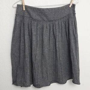 🔥Banana Republic Gray Pleated Gray Skirt 6